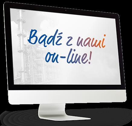 Bądź z nami on-line!